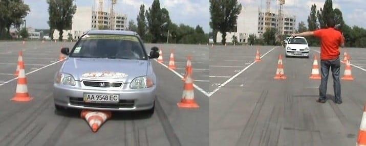 уроки экстремального вождения Киев